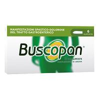 Buscopan 10 mg 6 Supposte