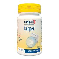 LONGLIFE COPPER 2MG 100CPR 35G
