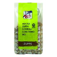 MIX ZUPPA 5 CEREALI FARRO BIO