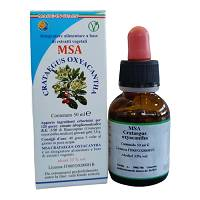 MSA CRATAEGUS OXYACA 50ML
