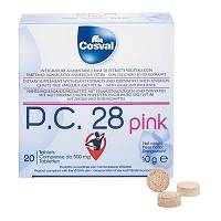 PC28 PINK 20TAV 500MG